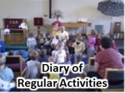 diary of regular activities